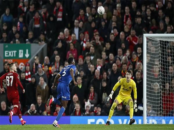 Liverpool 1-0 Shrewsbury: Liverpool vào vòng 5 cúp FA