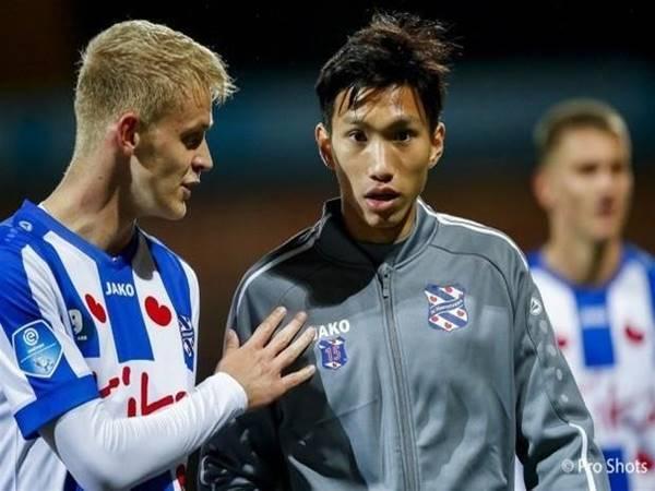 Văn Hậu ngồi ngoài trong trận thua ngược của SC Heerenveen