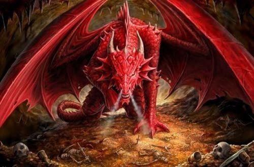 mơ thấy con rồng đỏ