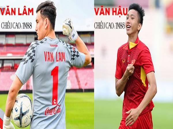 Nhóm cầu thủ Việt Nam có chiều cao trên 1m85