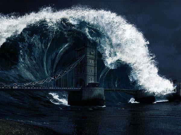 Nằm mơ thấy sóng thần - Giải mã điềm báo giấc chiêm bao thấy sóng thần