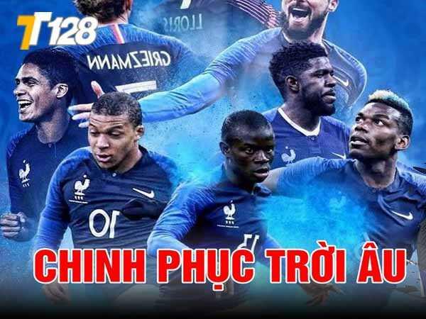 Kylian Mbappé tiền đạo trụ cột của ĐT Pháp tại VCK Euro 2021