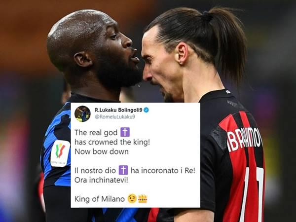 Tin bóng đá 4/5: Lukaku đá đểu Ibrahimovic trên MXH