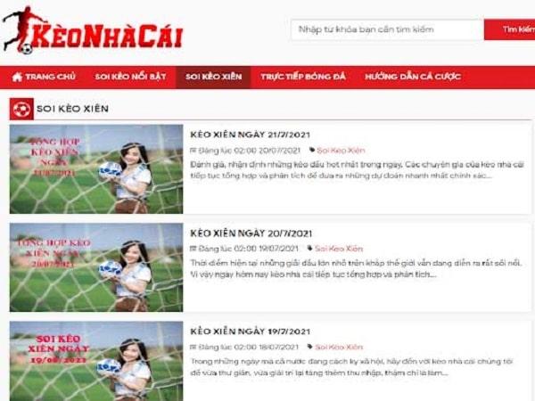 KEONHACAI Website Nhận định Tỷ lệ kèo nhà cái hàng đầu